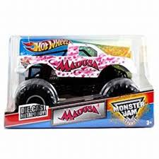 Pink Ribbon Madusa Monster Jam 1:24 Scale Die Cast Hot Wheels Truck ...