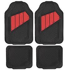 Car Floor Mats by Motor Trend Flextough 2 Tone Rubber Car Floor Mats For