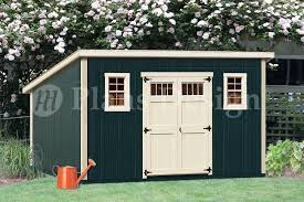 10 X 16 Shed Plans Free by Shed Plans 10 U0027 X 16 U0027 Deluxe Modern Roof Style D1016m Free