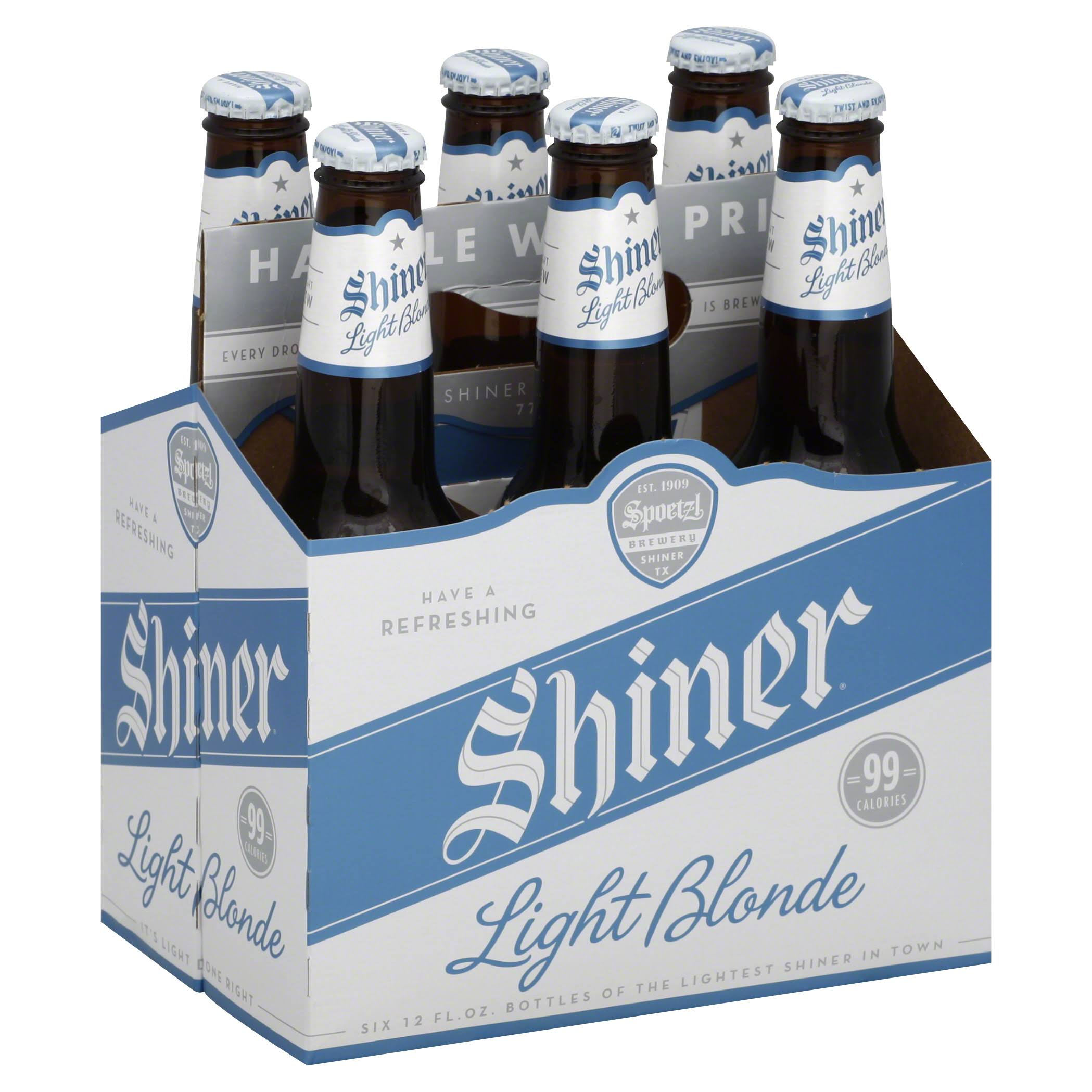 Shiner Light Blonde Beer - 6pk, 12oz