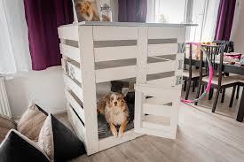 hundebox selber bauen diy bauanleitung für eine dekorative