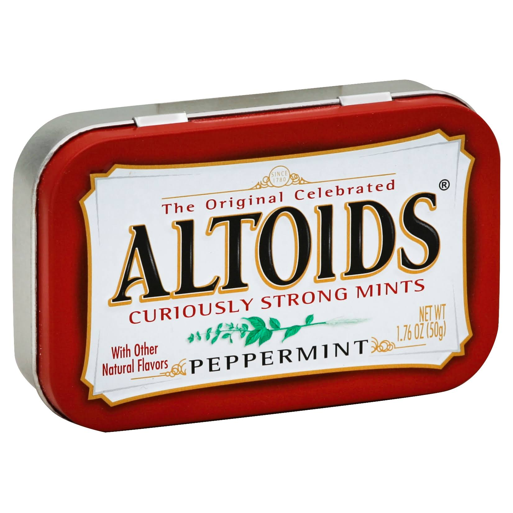 Wrigley's Altoids Peppermint Mints - 50g