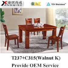 2015 Lebanon High Quality Glossy Solid Wood Dining Room Furniture