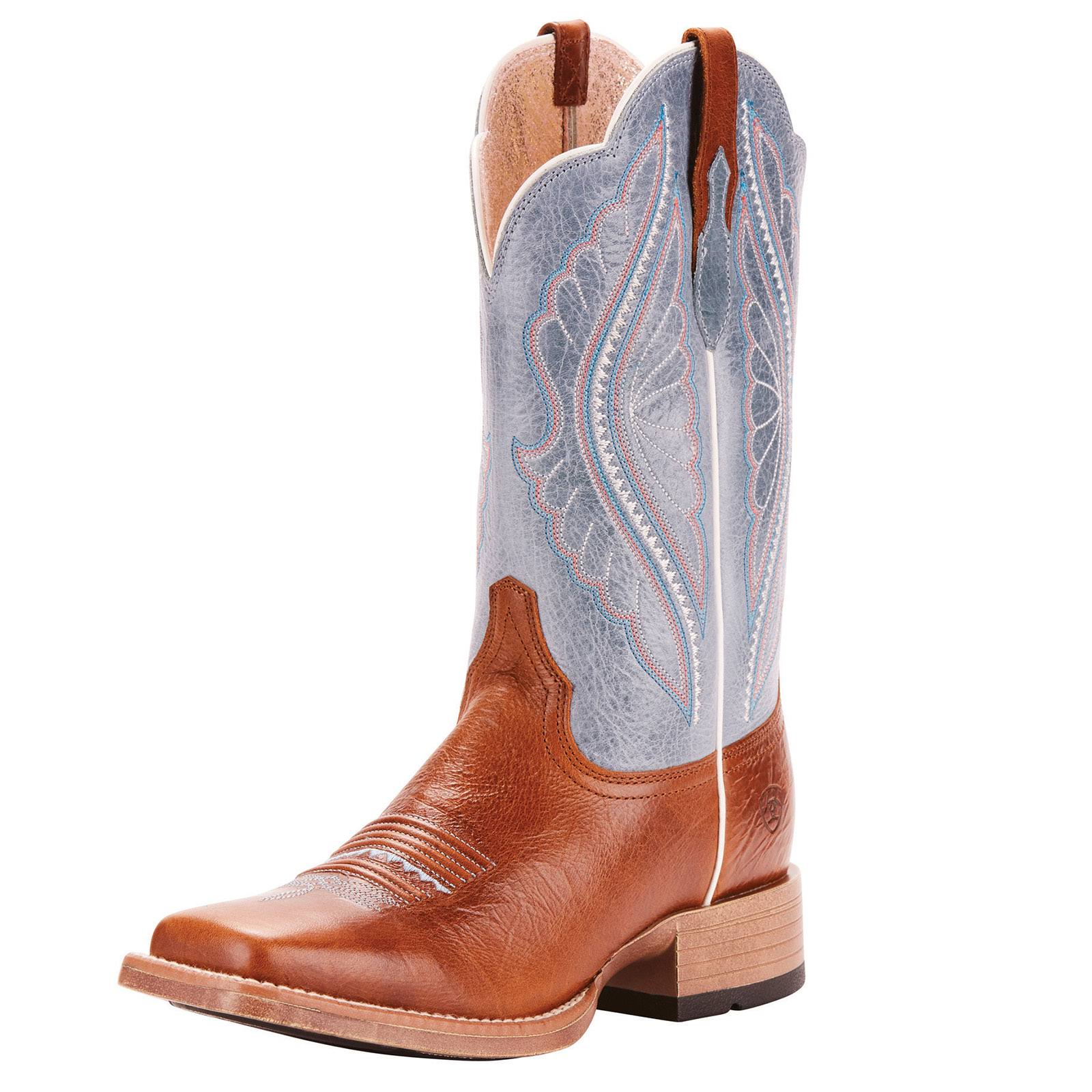 Ariat Primetime Western Boots - Gingersnap, 8.5US