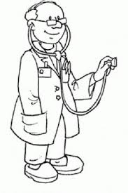 doctor clipart black and white 1