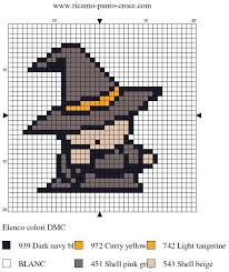 Halloween Perler Bead Templates by 467 Best Brujas Images On Pinterest Embroidery Free And Noel