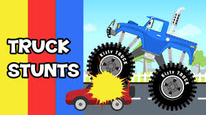 Truck Stunts | Monster Trucks For Kids | Kiztv - YouTube 100 Bigfoot Presents Meteor And The Mighty Monster Trucks Toys Truck Cars For Children Cartoon Vehicles Car With Friends Ambulance And Fire Walking Mashines Challenge 3d Teaching Collection Vol 1 Learn Colors Colours Adventures Tow Excavator The Episode 16 Tv Show Monster School Bus Youtube