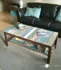 Coffee Tables Painted Best Table Ideas On Pallet For Modern Residence Colorful