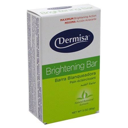 Dermisa Brightening Bar - 3oz, Pack of 3