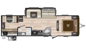 Travel Trailer Floor Plans Rear Kitchen by Hideout Rv New U0026 Used Rvs For Sale All Floorplans