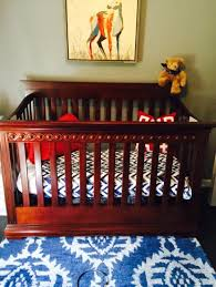 Jcpenney Crib Bedding find more convertible crib cherry finish with mattress for sale at