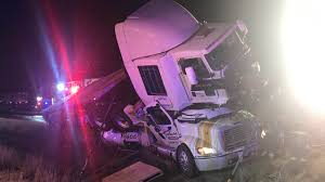 Big Rig Crash On I-35 Leaves One Semi On Top Of The Other