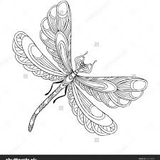 Dragonfly Coloring Pages Free