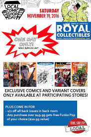 Last Day For 1 Any by Royal Collectibles Your Friendly Neighborhood Comic Shop Part 2