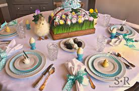 Spring Indoor Flower Garden Table Decorations For Easter