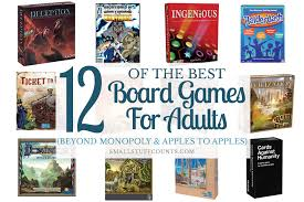 12 Of The Best Board Games For Adults Beyond Monopoly Apples To
