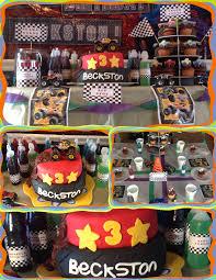 100 Monster Truck Theme Party Birthday Payson Truck Birthday
