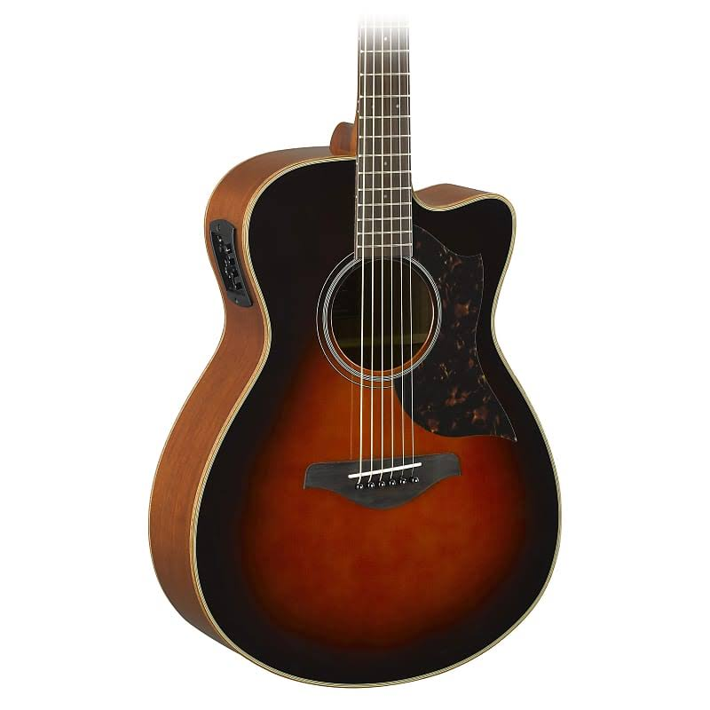 Yamaha Concert Acoustic Electric Guitar - Tobacco Brown Sunburst