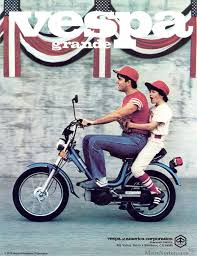 Vespa Grande Moped 1978