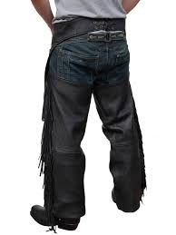 jts mens leather fringed chaps free uk delivery u0026 exchanges