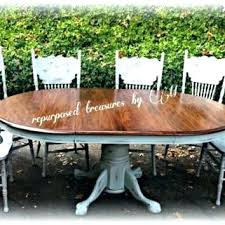 Shabby Chic Dining Room Table And Chairs by Dining Table Upcycled Dining Room Table Distressed Painted