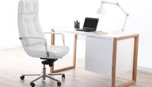 fauteuil bureau blanc fauteuil de bureau blanc allier confort et élégance