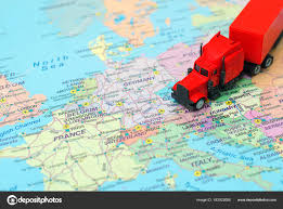 Red Big Cargo Truck On The Map Of Europe. — Stock Photo ... Delivery Goods Flat Icons For Ecommerce With Truck Map And Routes Staa Stops Near Me Trucker Path Infinum Parking Europe 3d Illustration Of Truck Tracking With Sallite Over Map Route City Mansfield Texas Pennsylvania 851 Wikipedia Road 41 Festival 2628 July 2019 Hill Farm Routes 2040 By Us Dot Usa Freight Cartography How Much Do Drivers Make Salary State Map Food Trucks Stock Vector Illustration Dessert