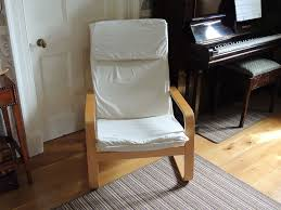 Pello Chair Cover Ikea by Ikea Pello Chair In Cream Fabric In Kinross Perth And Kinross
