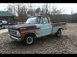 100 71 Ford Truck F100 F100 Ideas Trucks S
