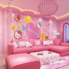rosa gestreifte tapete rosa dekoration möbel wand zimmer