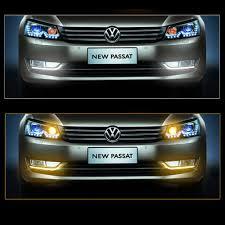 car led drl daytime running light for vw passat 2011 2012 2013