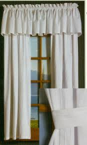 Tier Curtains 24 Inch by Rod Pocket Curtains Thecurtainshop Com