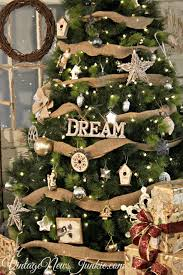 Our Family Room Garland Lizardmediaco Vintage Rustic Christmas Tree Decorations A Winter Wonderland Decorating