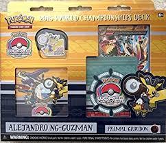amazon com 2015 pokemon world chionships deck alejandro ng