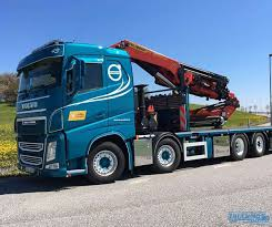 WSI BA Persons Kranbilar (AkkaFRAKT) Volvo FH4 Sleeper Cab Palfinger ...