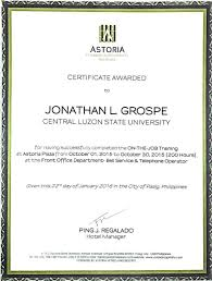 Front Desk Agent Salary Philippines by Jonathan Grospe Bayt Com