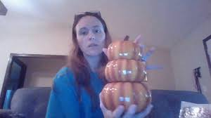 Pumpkin Scentsy Warmer 2014 by October Warmer And Scent Of The Month Harvest Pumpkins And