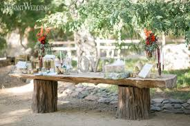 Rustic Wedding Gift Table