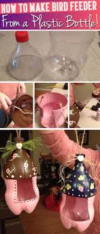 Cool DIY Projects Made With Plastic Bottles Cute Bird Feeder From A Bo Coolpics