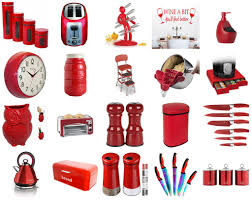 Funky And Cheap Red Kitchen Accessories