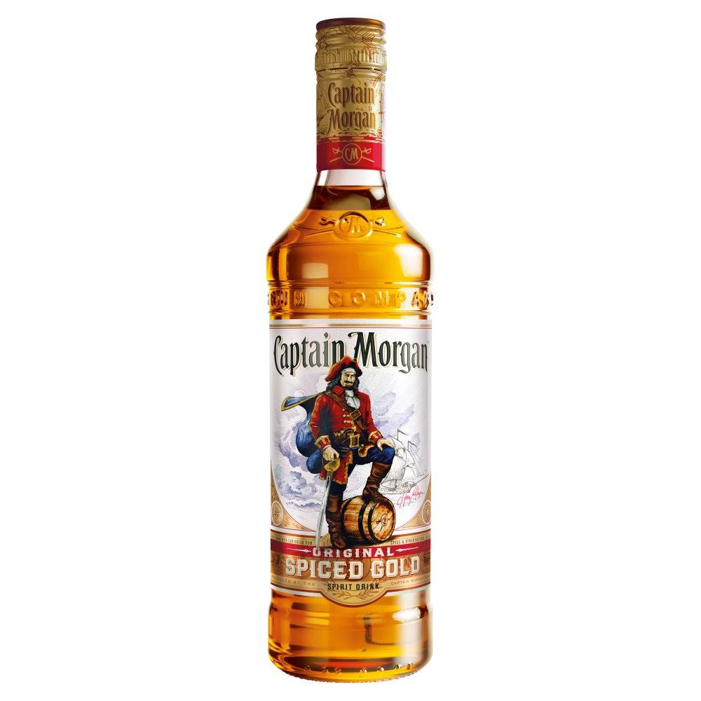 Captain Morgan Original Spiced Gold Rum - 70cl