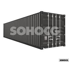100 Shipping Container 40ft 3D Model SOHOCG 3D Models For Professionals
