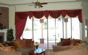 Living Room Curtains And Valances Swag For Home Design Ideas Dining
