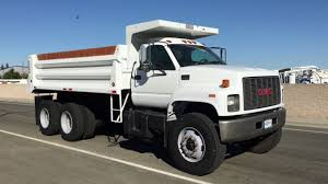 2000 GMC C8500 10-12 Yard Dump Truck - YouTube