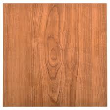 peel and stick vinyl tile in walnut wood grain look laminate tile
