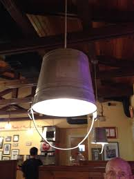 The Shed Barbeque Restaurant by Neat Idea For A Light Fixture Saw This A A Bbq Restaurant In