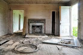 Abandoned Farmhouse Interior Turner County