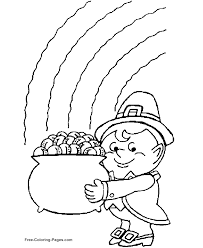 Free Printable St Day Coloring Pages S This Pot Of Gold
