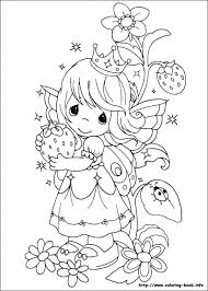 Precious Moments Coloring Pages On Book Within Printable