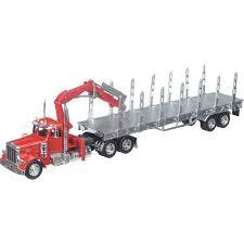 Peterbilt 379 Log Carrier Die-Cast Collectible — 1:32 Scale ...